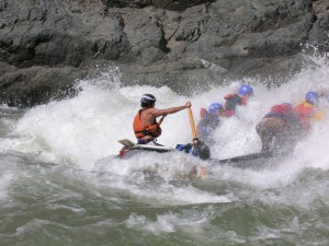Black canyon raft
